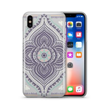 Opulent Mandala - Clear TPU Case Cover Phone Case
