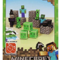 Minecraft Papercraft Hostile Mobs Set
