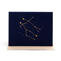 Zodiac Birthday Card Gemini