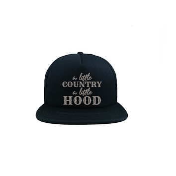 A Little Country A Little Hood Trucker Hat