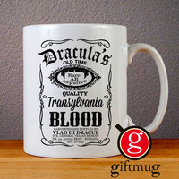 Draculas Logo Ceramic Coffee Mugs