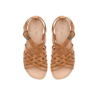 LEATHER ROMAN SANDAL - Shoes - Girl - Kids - ZARA United States