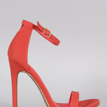 Shoe Republic LA Darling Open Toe Heel