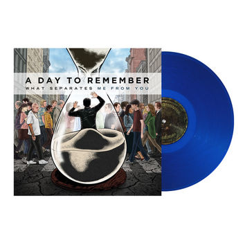 A Day To Remember: What Separates Me From You Vinyl (Clear Dark Blue)