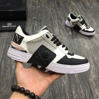 Philipp Plein Men Fashion Casual Sneakers Sport Shoes