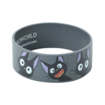 Kiki's Delivery Service Jiji Faces Rubber Bracelet