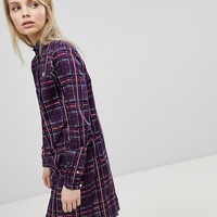 Fred Perry Tartan Check Shirt Dress at asos.com