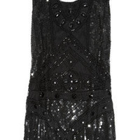 Anna Sui | Embellished tulle mini dress | NET-A-PORTER.COM
