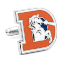 Denver Broncos Vintage Football Cufflinks BY NFL