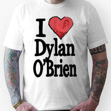 I Love Dylan O'Brien Unisex T-Shirt