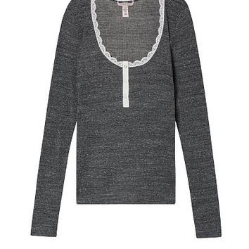 Ribbed Sleep Henley - Victoria's Secret