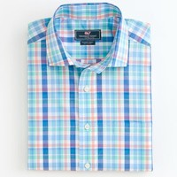 Pompano Plaid Cooper Shirt