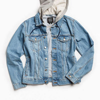 BDG Hooded Core Denim Trucker Jacket | Urban Outfitters