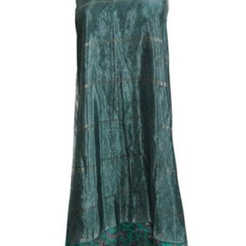 Magic Wrap Skirt Gypsy Silk Reversible Wrap-Around Long Skirts