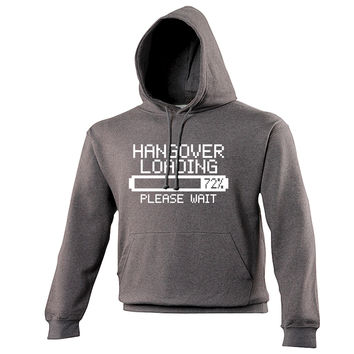 123t USA Hangover Loading Please Wait Funny Hoodie
