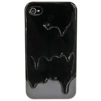 BLACK & GREY MELT IPHONE 4/4S + 5 CASE. - TECH