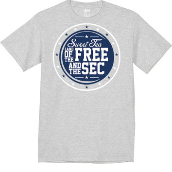 'Sweet Tea, Land of the Free & the SEC' Tee