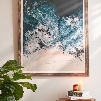 Ingrid Beddoes I Love The Sea Art Print | Urban Outfitters