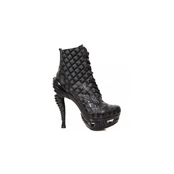 Newrock - M-MAG016X-S1 Ankle Boot Punk Boots
