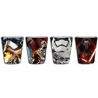 Star Wars The Force Awakens Shot Glasses 4 Pack - Spencer's