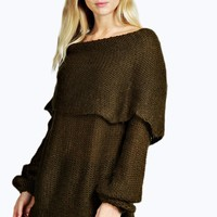 Lola Soft Knit Off The Shoulder Jumper