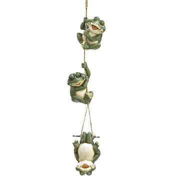 Happy Frogs Hanging Decor