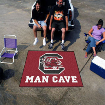"NCAA - South Carolina Man Cave Tailgater Rug 60""x72"""