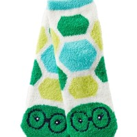Shea-Infused Lounge Socks Turtle