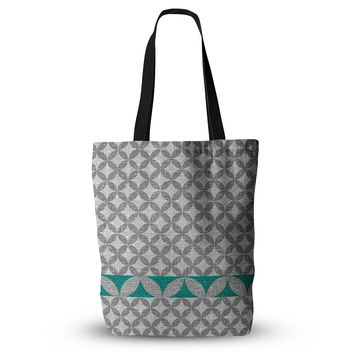 "Nick Atkinson ""Diamond Turquoise"" Everything Tote Bag"