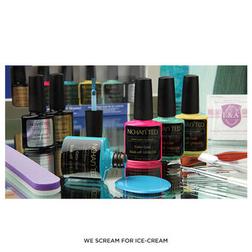 NCHAN'TED Gel Color System Nail Kit - Assorted Styles