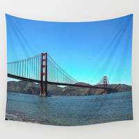 San Francisco Golden Gate Wall Tapestry by Shu | Formanuova