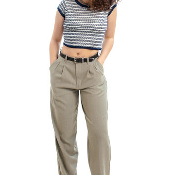 Vintage 90's Whatever's Clever Neutral Trousers - M