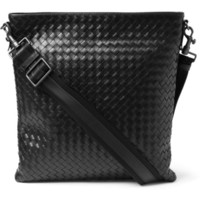 Bottega Veneta Intrecciato Leather Messenger Bag | MR PORTER