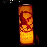 Catching Fire candle home decore-- Hunger gamescandle holder -Mockingjay -- - catching fire movie -- map of panem