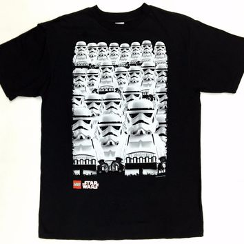 Kid's Youth LEGO STAR WARS STORMTROOPER ARMY T-Shirt NWT Licensed & Official