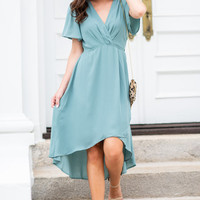 What A Beauty Midi Dress, Green