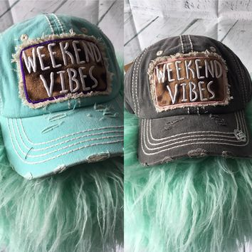 Weekend Vibes Cap