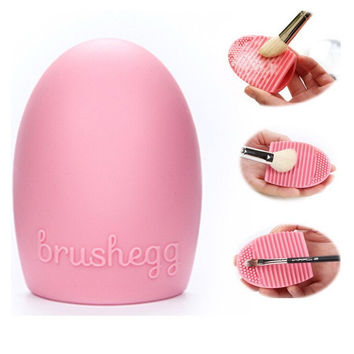 Cosmetic Makeup Brush Cleaner Brushegg