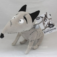 "New Disney Store Tim Burton Frankenweenie dog 14"" Sparky Animal Plush Toy Doll"