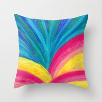Rise & Shine Throw Pillow by Sandra Arduini