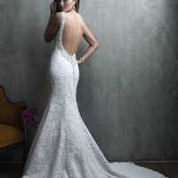 Allure Couture C302 Low Back Wedding Dress