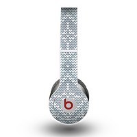 The Knitted Snowflake Fabric Pattern Skin for the Beats by Dre Original Solo-Solo HD Headphones