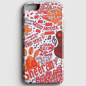 Ed Sheeran Collage iPhone 6/6S Case