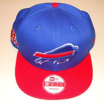 New Era Hat Cap NFL Football Buffalo Bills BayChik Snapback Hat 2012 Adjustable