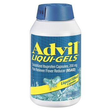 Advil® Pain Reliever and Fever Reducer Liqui-Gels