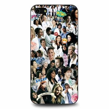 Greys Anatomy - Too Sassy For You iPhone 5/5s/SE Case