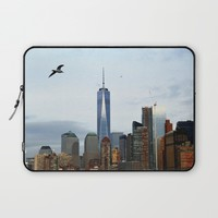 New York Laptop Sleeve by Haroulita | Society6