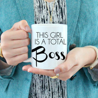 This Girl is a Total Boss Mug
