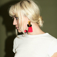 Lizzie Fortunato Earrings - Totem Tassel Earrings | BONA DRAG