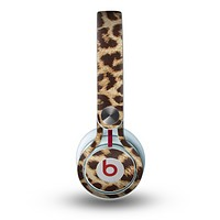 The Simple Vector Cheetah Print Skin for the Beats by Dre Mixr Headphones